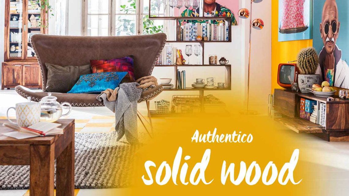 Modern And Cozy The Authentico Solid Wood Furniture